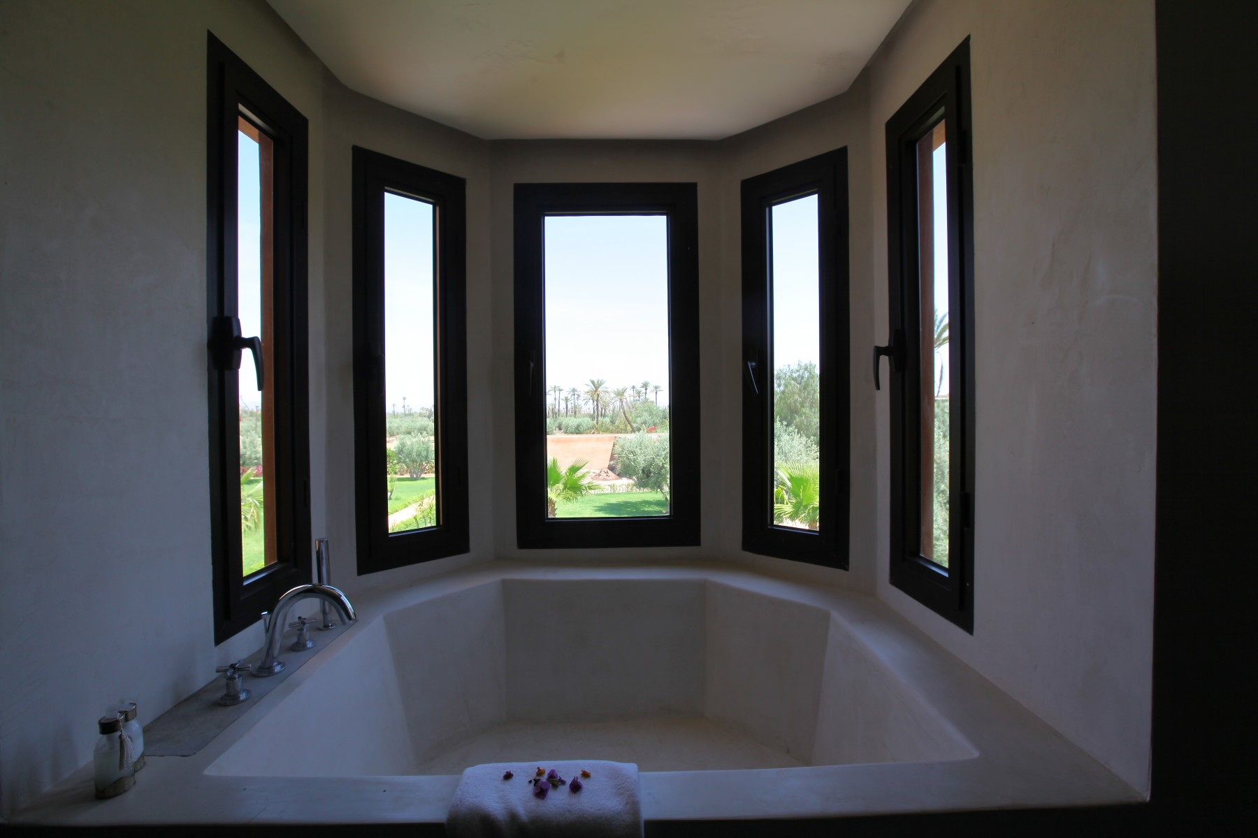 Suite nigelle marrakech resort for Douche double italienne