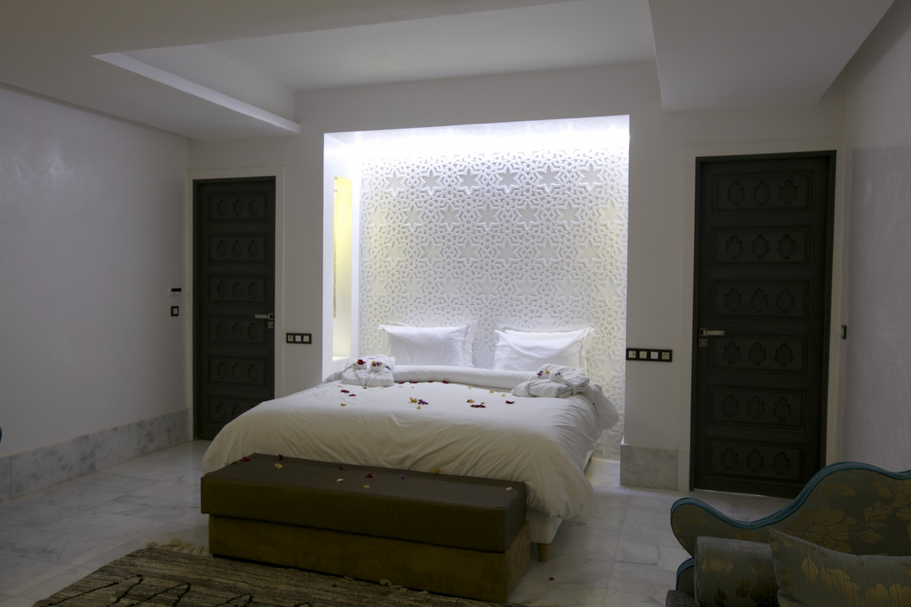 Suite cardamome marrakech resort for Salle de bain de luxe italienne